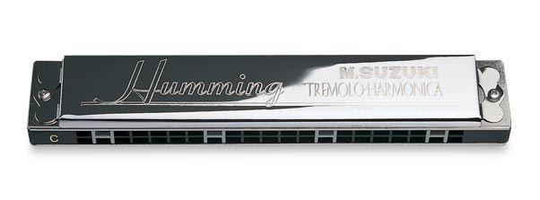 Suzuki Humming de Luxe Tremolo 21 Mundharmonika A-Dur