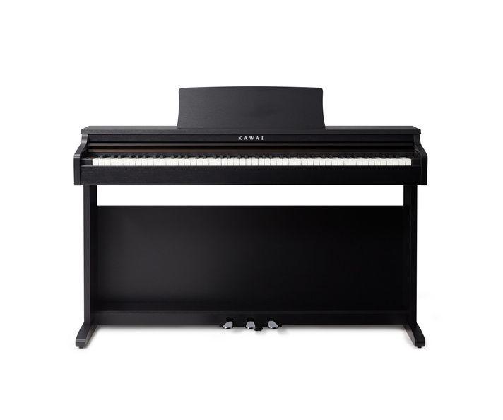 KAWAI KDP-120B Digitalpiano schwarz matt, 88 Tasten Hammermechanik,