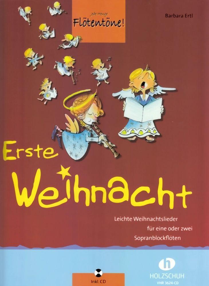 Noten Erste Weihnacht Flötentöne Barbara Ertl VHR 3624-CD