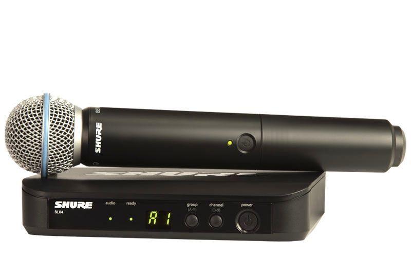 Shure BLX24E/Beta 58-S8 823-832 MHz Vocal Wireless System, Drahtlos Mikrofon
