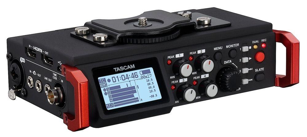 Tascam DR-701D tragbarer Digitalrecorder, Portabler 6-Kanal Audiorecorder