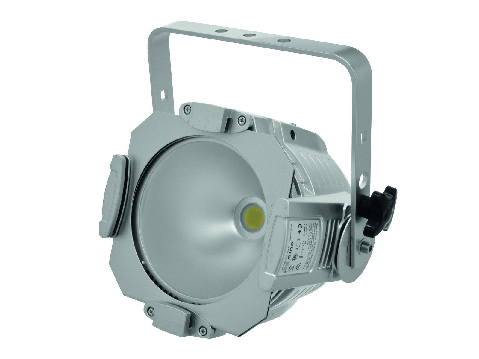 EUROLITE LED ML-56 COB 5600K 50W 60° Scheinwerfer silber ABVERKAUF