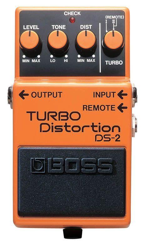 Boss DS-2 Turbo Distortion, Effektgerät für E-Gitarre