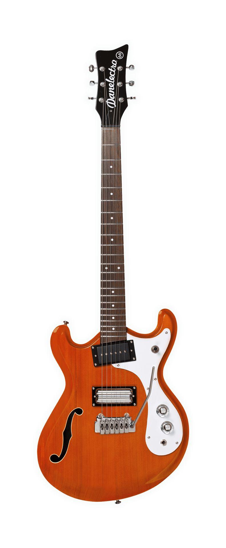 Danelectro 66T Transparent Orange  E-Gitarre