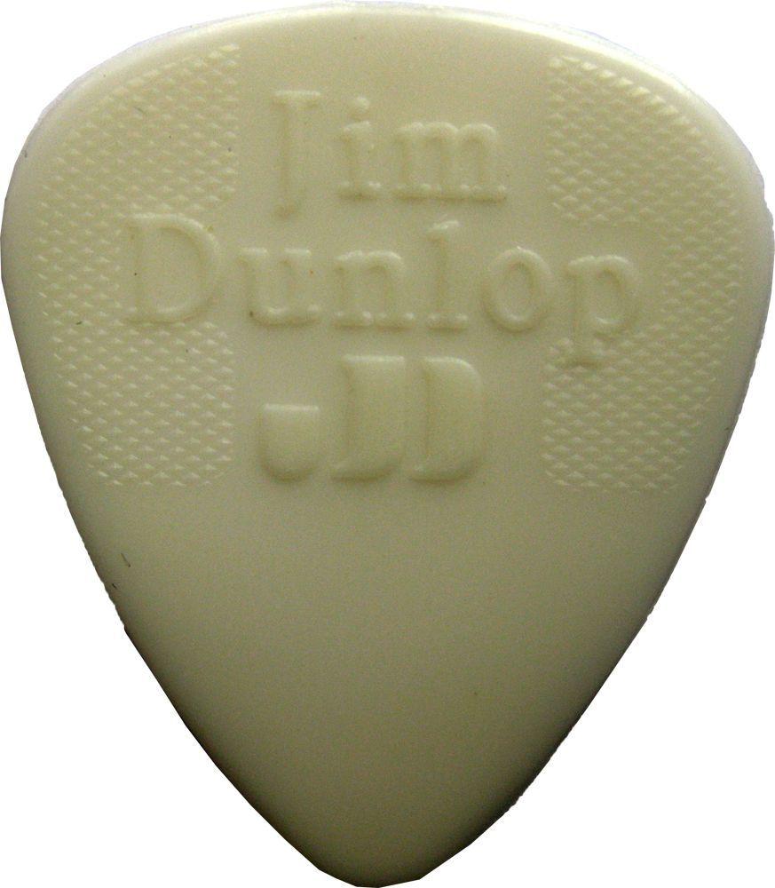 Jim Dunlop Nylon Pick 0,38 mm White Plektrum für Gitarre