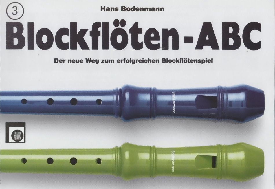 Noten Blockflöten-ABC Band/Vol. 3 Hans Bodenmann EMZ 2107598 Blockflöte
