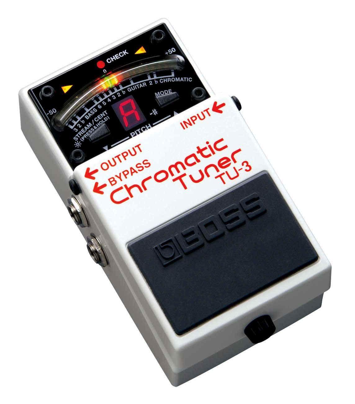 Boss TU-3 Chromatic Floor-Tuner, chromatisches Stimmgerät
