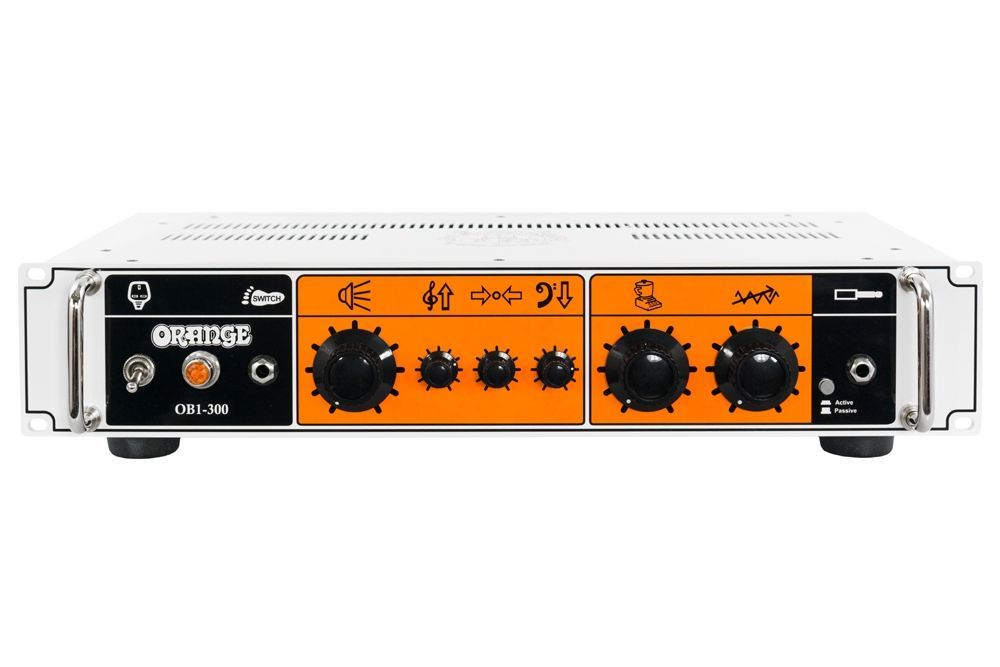 Orange OB1-300 Bass Topteil, Bi-Amping, 300 Watt Transistor