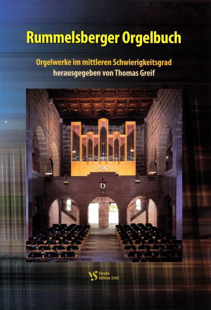 Noten Rummelsberger Orgelbuch Strube 3542  mittlerer Schwierigkeitsgrad
