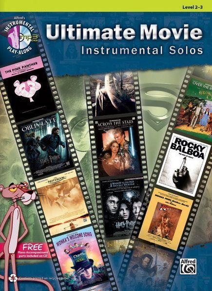 Noten Ultimate Movie instrumental Solos Querflöte Alfred 40105 incl. CD