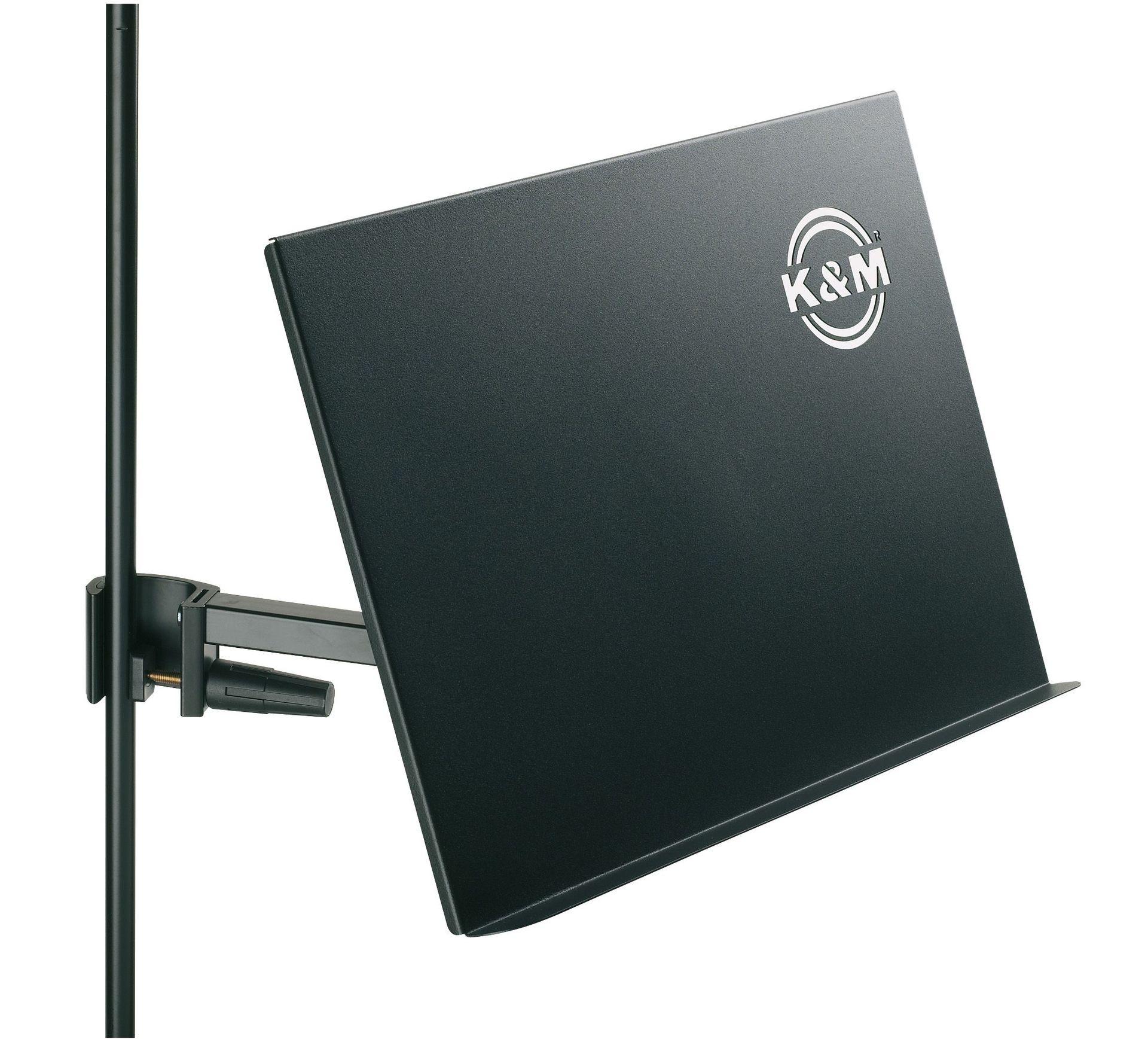 K&M 11540 große Notenablage 42x30x3cm - Mikrofonständer/Notenpulte Konzepthalter