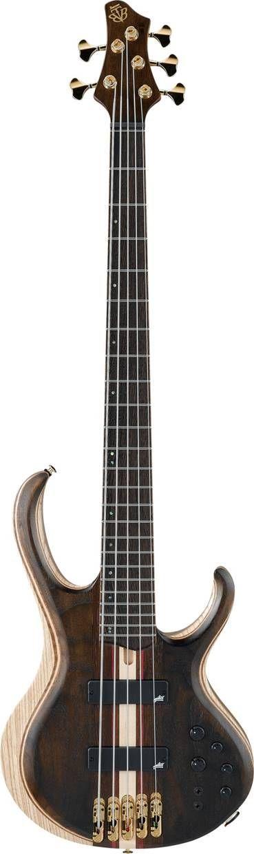 Ibanez Premium BTB1825-NTL  5-Saiter E-Bass incl. Softcase  Abverkaufsteil!
