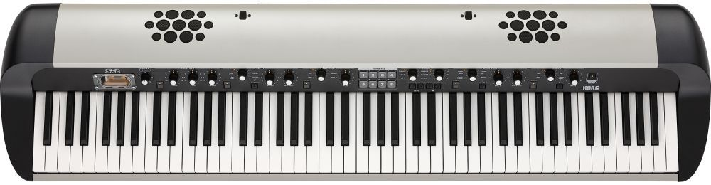 Korg SV-2S-88 BK Stagepiano Digitalpiano mit 88 Tasten und Lautsprechersystem
