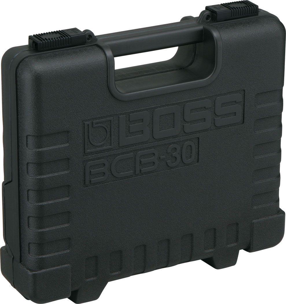 Boss BCB-30 Kunststoffcase Pedalboard, Koffer für 3 Bosseffektgeräte, grau