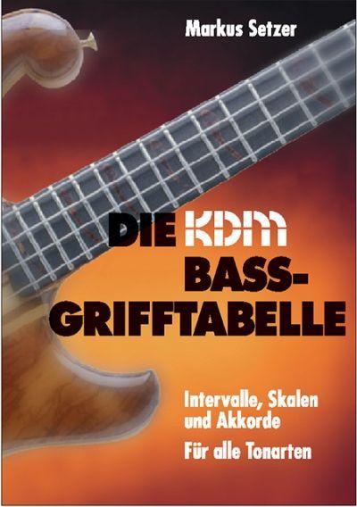 Noten Die KDM Bass-Grifftabelle Alfred KDM 20984-295  Markstein Notensuche
