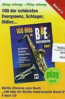 CD Playbacks 100 Hits für B & Es Instrumente 2 Hildner Verlag