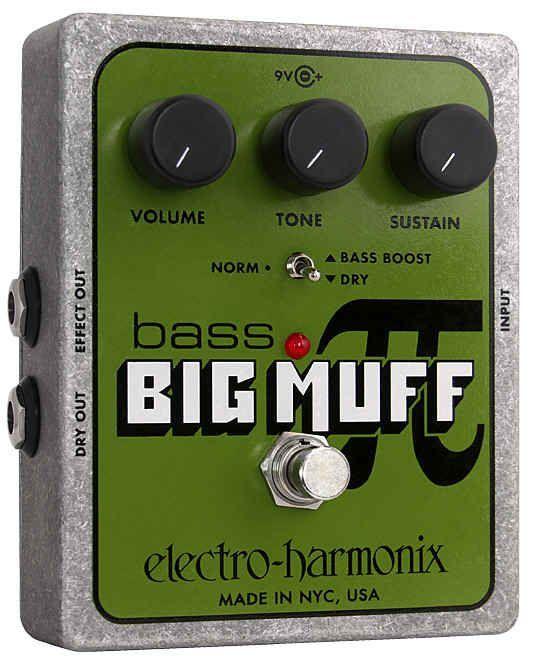 Electro Harmonix Bass Big Muff Pi, Effektgerät für E-Bass