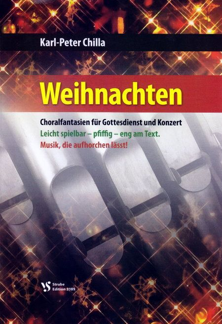 Noten Weihnachten Orgel Karl Peter Chilla VS 3389 Strube Vorspiele