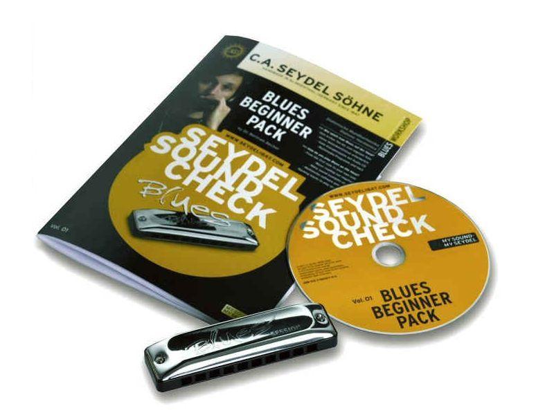 Mundharmonika Lernen (Set), Seydel Sound Check Vol.1, Beginner - Pack
