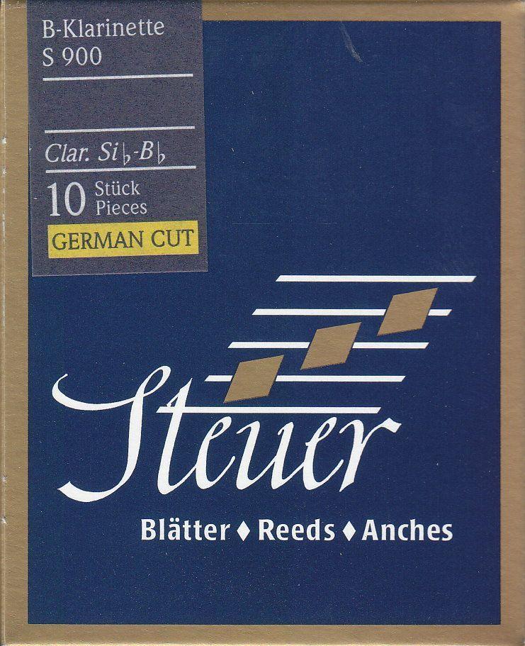 Steuer Blatt S-900 B-Klarinette deutsch 3,5 Blue Line