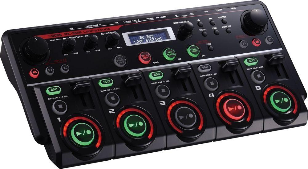 Boss RC-505 Desktop Loopstation mit 85 Rhythm-Pattern und Effekten