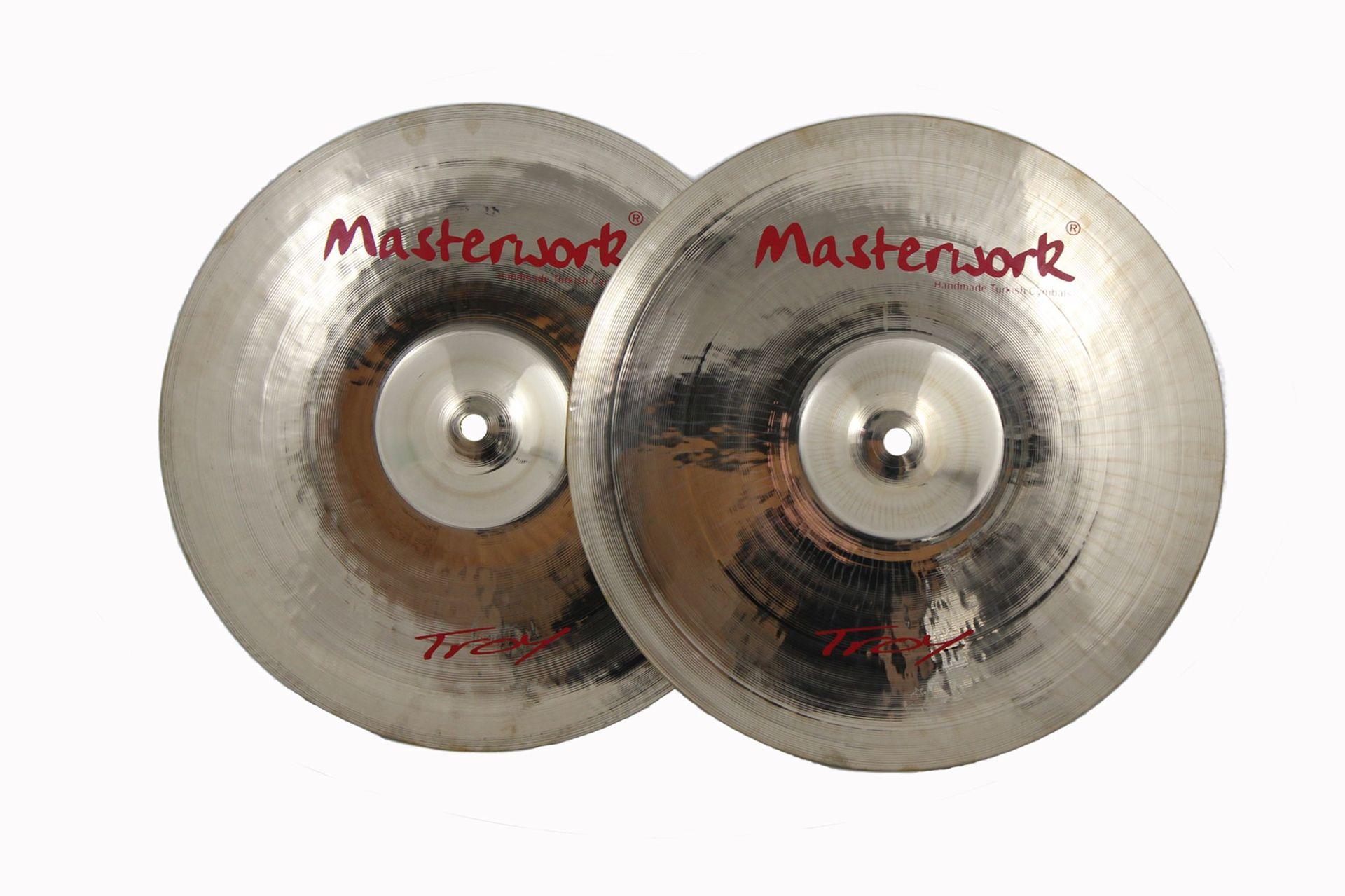 """Masterwork Troy 14"""" Hi-Hat Becken"""