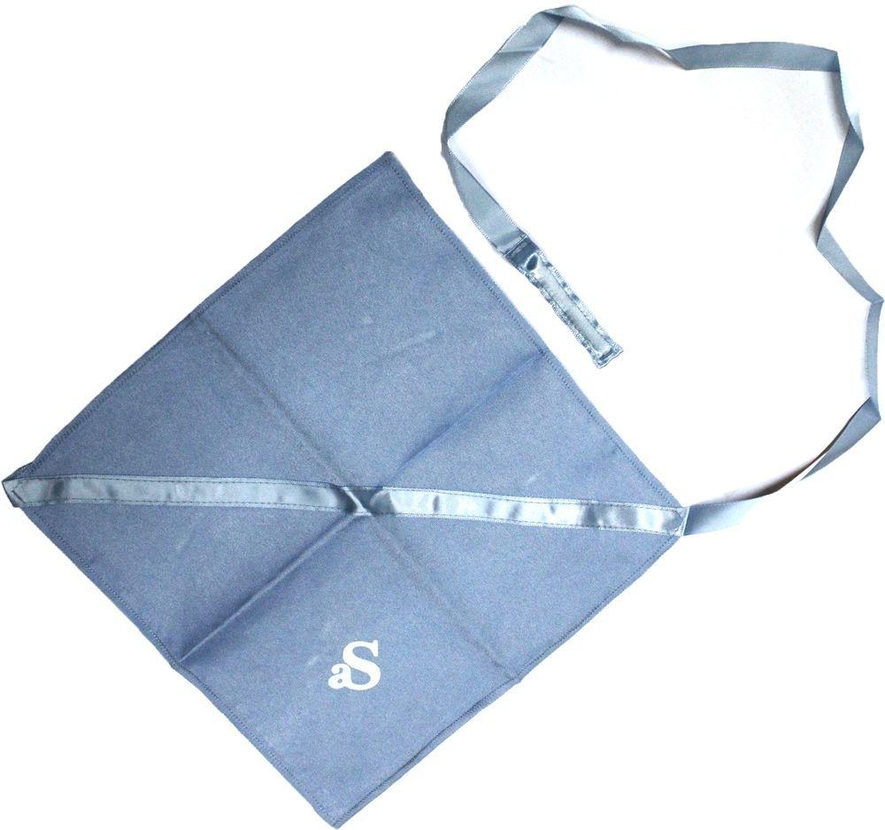 Wischer für Klarinette Microfaser mit Schnur und Gewicht