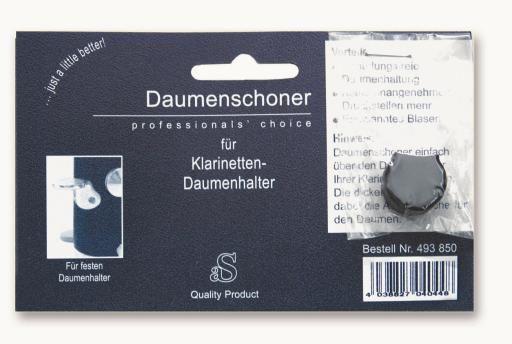 Daumenschoner für Klarinette mit festem Daumenhalter
