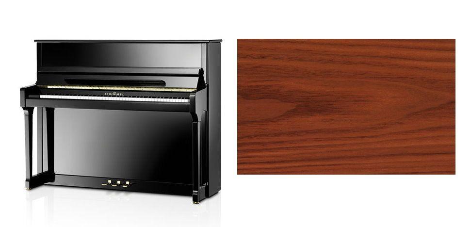 Schimmel C-121 Tradition Klavier Nussbaum satiniert
