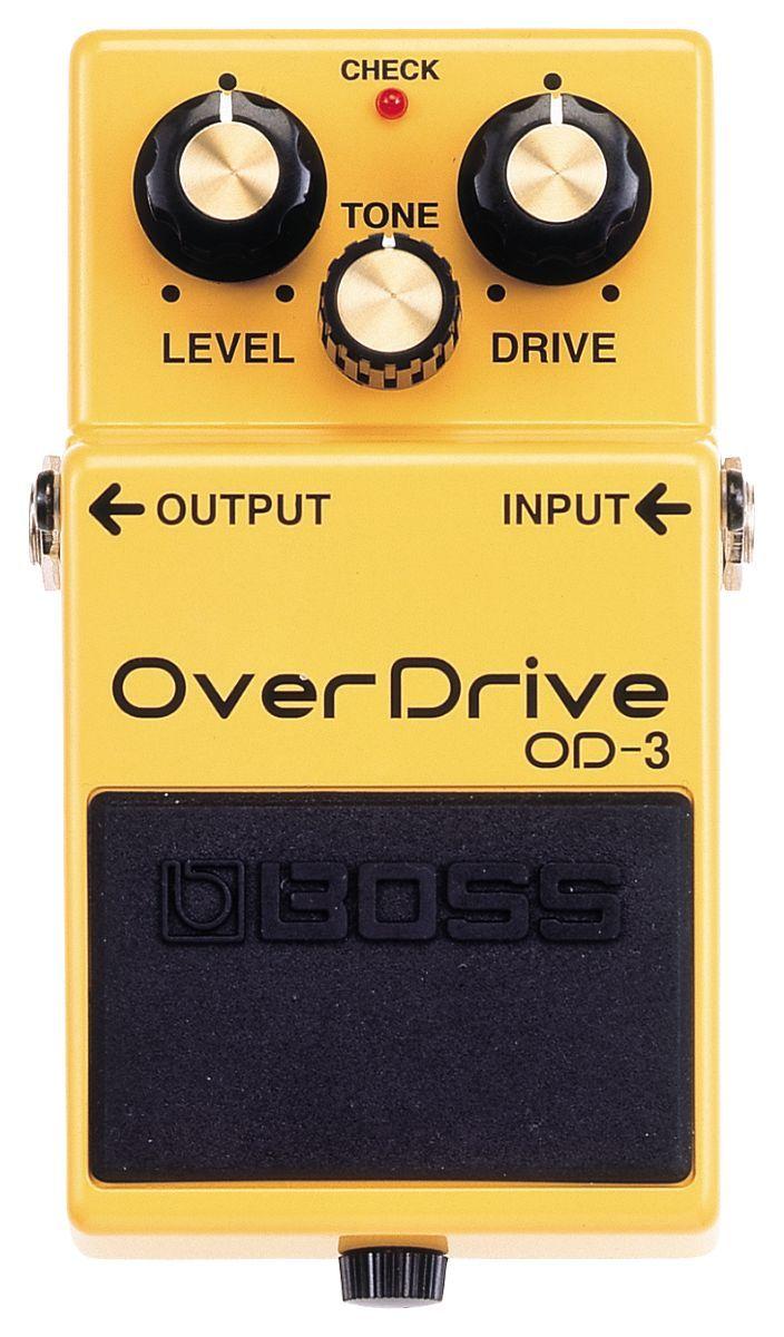 Boss OD-3 Overdrive, Effektgerät für E-Gitarre