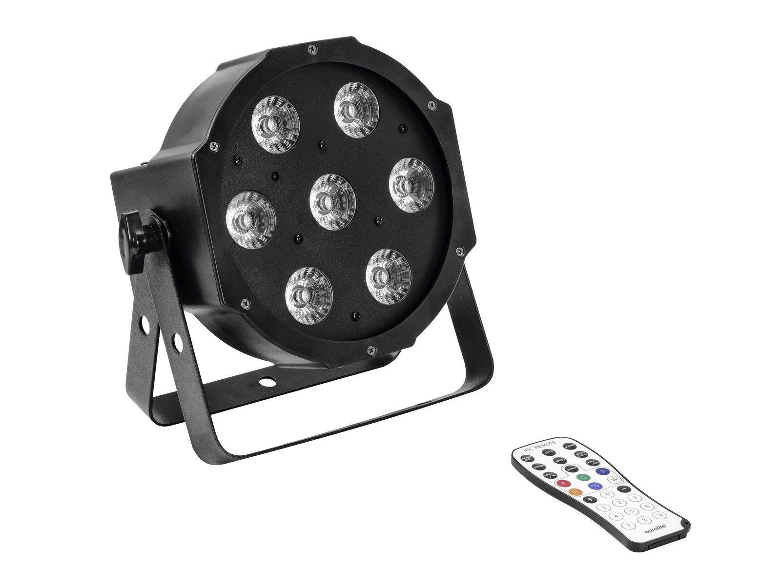 EUROLITE LED SLS-7 HCL Floor flacher LED PAR-Scheinwerfer  mit 7 x 10 W RGBW+UV