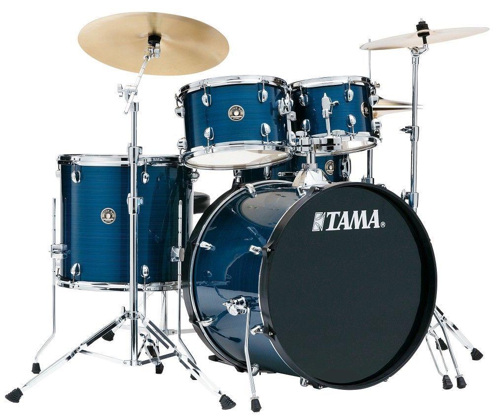 TAMA Rhythm Mate RM50YH6-HLB hairline blue + Meinl BCS Cymbalset und Hardware