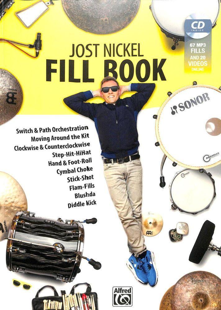 Noten Jost Nickel Fill Book Schlagzeug Alfred ALF 20256G incl. MP3-CD
