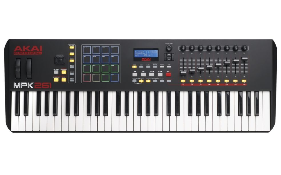 AKAI MPK 261 USB/MIDI Controller Keyboard
