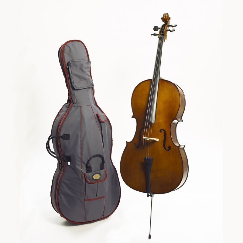 Stentor Cello 3/4 1108C2 Student II Ebenholzgriffbrett, Ebenholzwirbel