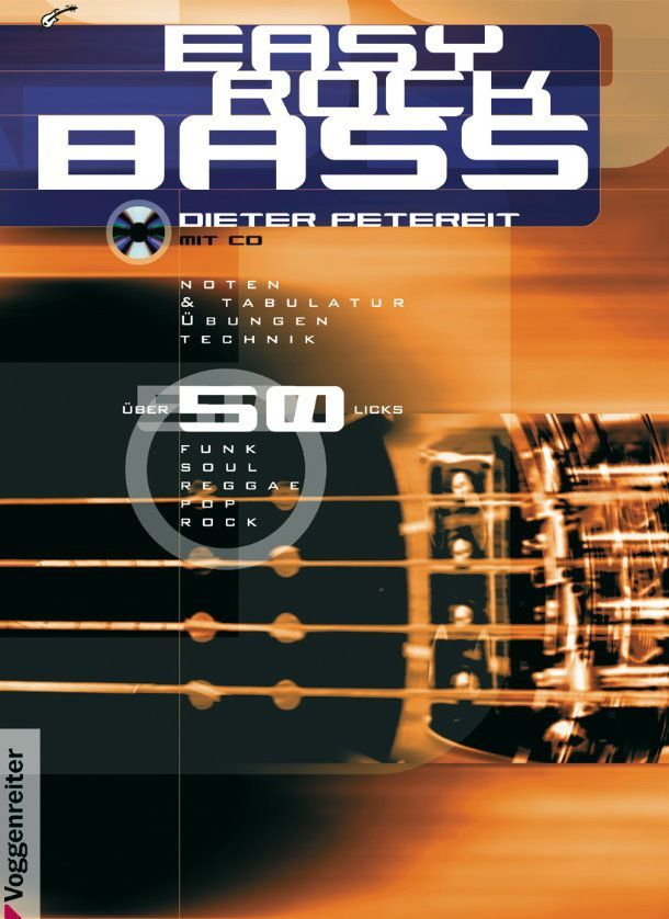 Schule Easy Rock Bass Voggenreiter 3-8024-0209-x  Markstein Notensuche