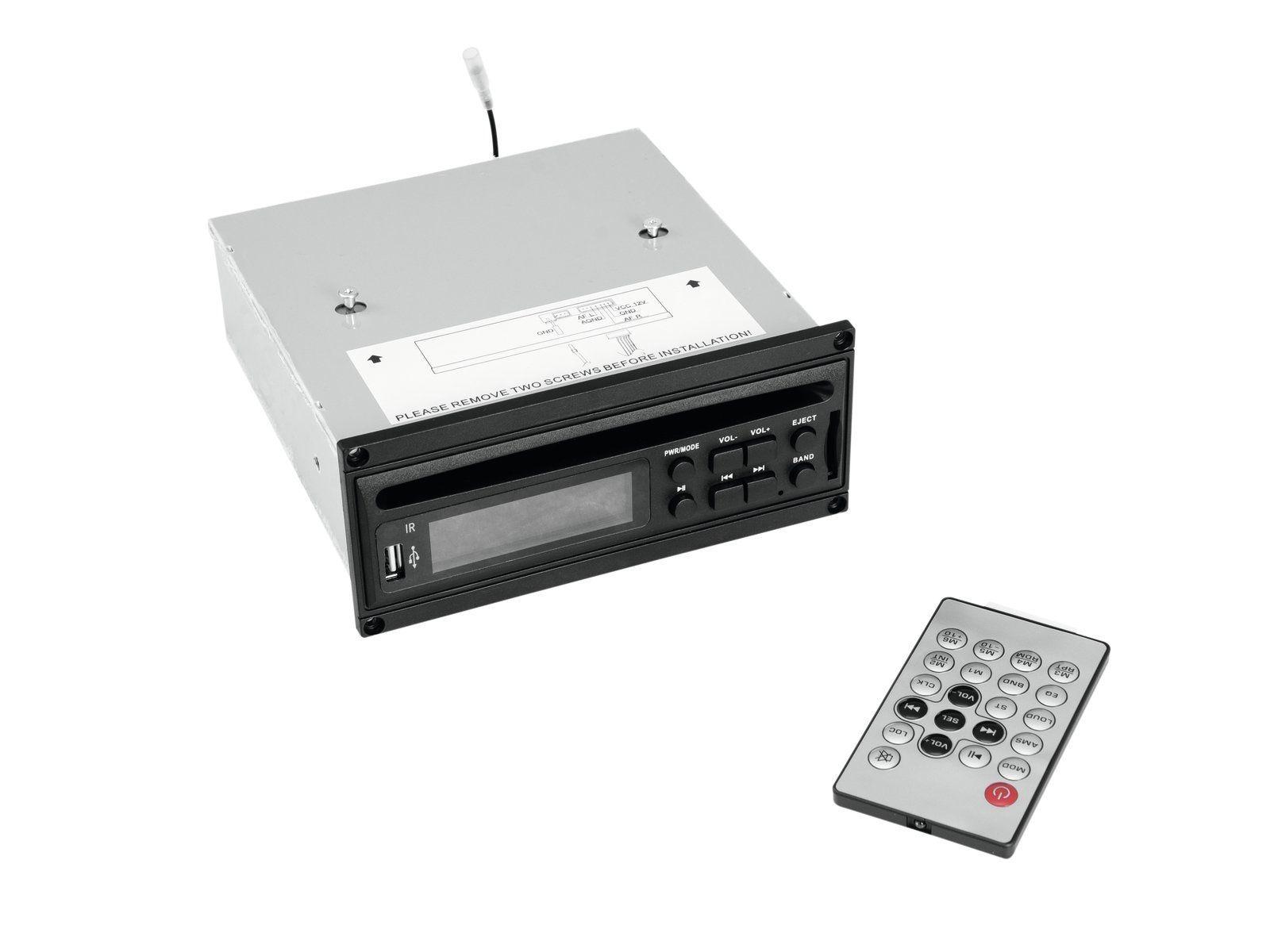 OMNITRONIC MOM-10BT4 CD-Player mit USB und SD für MOM-10BT4 Kompaktbox