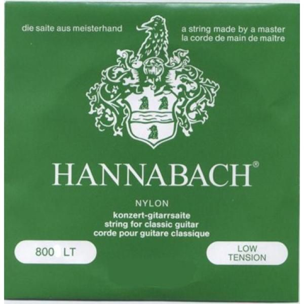 Hannabach 800 Nylonsaiten Satz Low Tension
