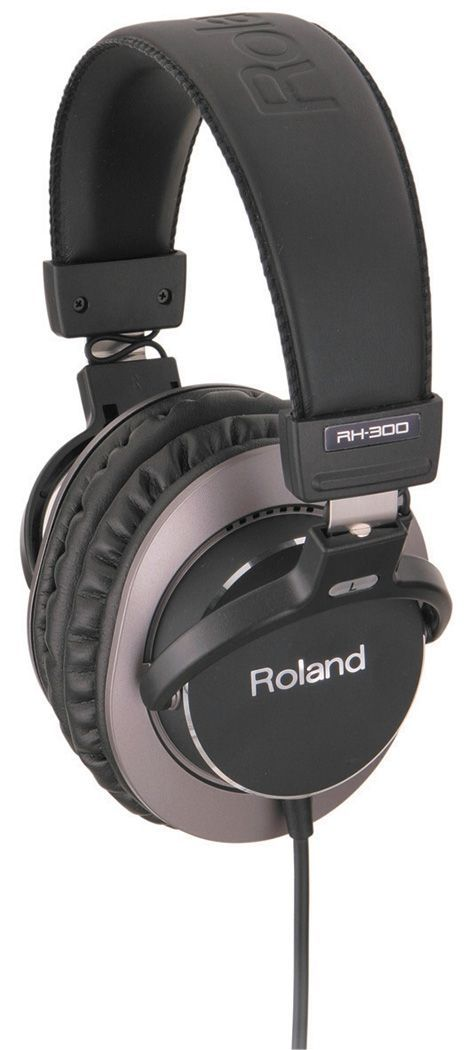 Roland RH-300 Kopfhörer Hochwertiger Monitoring Studiokopfhörer