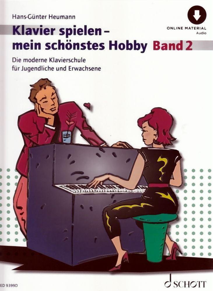 Noten Klavierspielen mein schönstes Hobby Band 2 Hans Günther Heumann ED 9399D