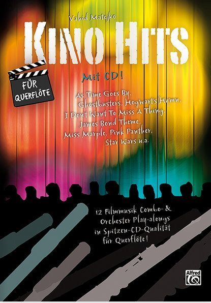 Noten Kino Hits Kinohits für Querflöte Alfred 20176G Matejko Vahid incl. CD