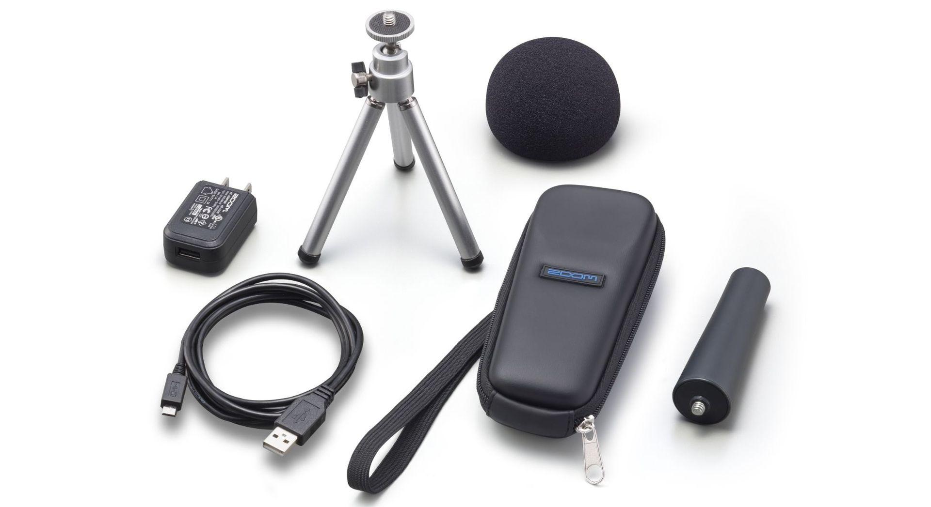 Zoom APH-1n Zubehör-SET für H1n-Recorder mit Tasche, USB-Kabel, Tischstativ usw.