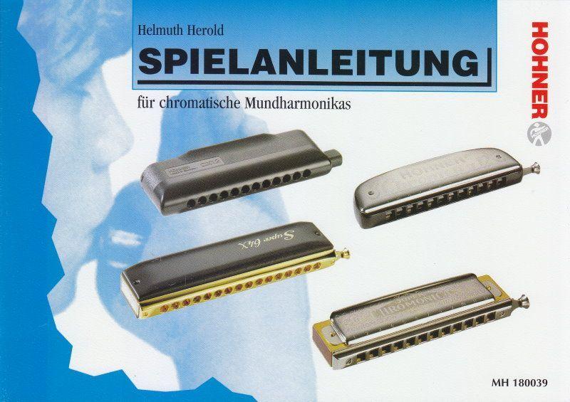 Schule Spielanleitung für chromatische Mundharmonikas Herold Hohner 180039