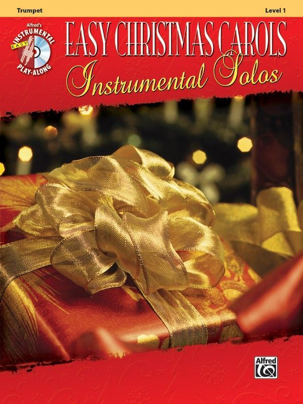Noten Easy Christmas Carols incl. CD Trompete Alfred 38760 Weihnachtslieder