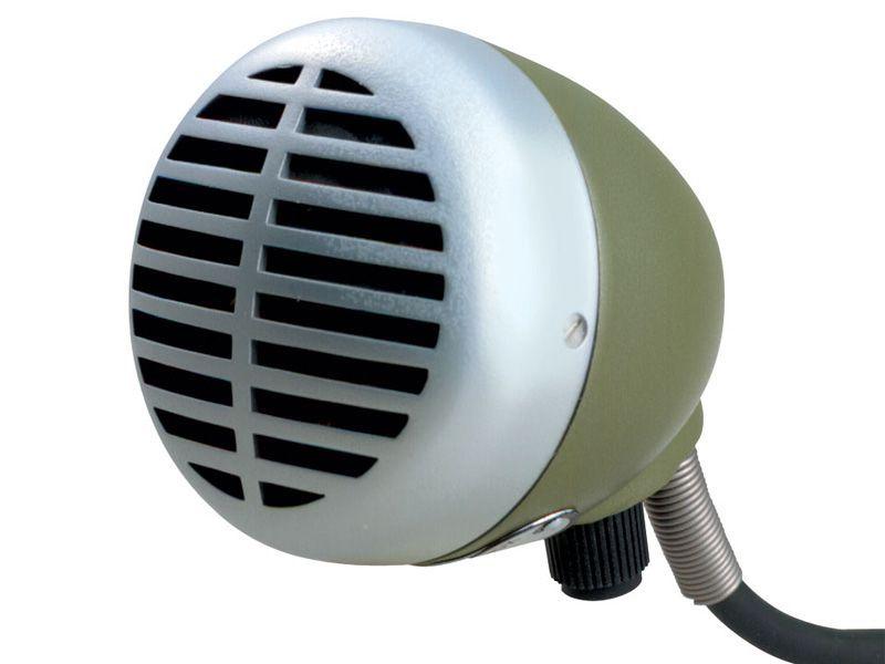 Shure 520 DX Mikrofon für Mundharmonika, dynamisch, Kugelrichtcharakteristik