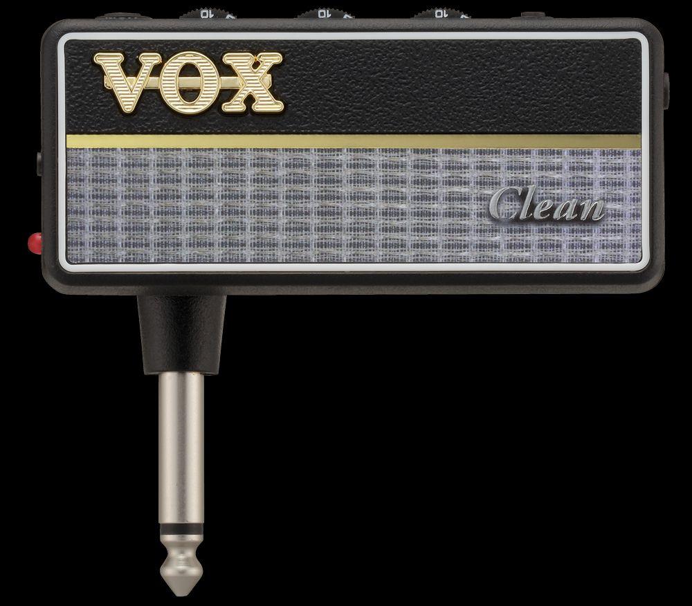 Vox Amplug 2 Clean Kopfhörer-Amp mit 6,3mm Klinke zum Anschluß an Gitarre