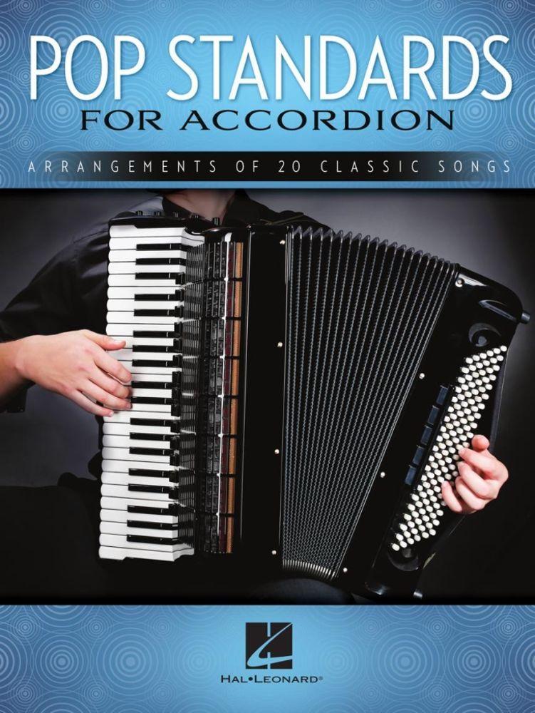 Noten Pop Standards for Accordion HL 00254822 20 Titel für Akkordeon