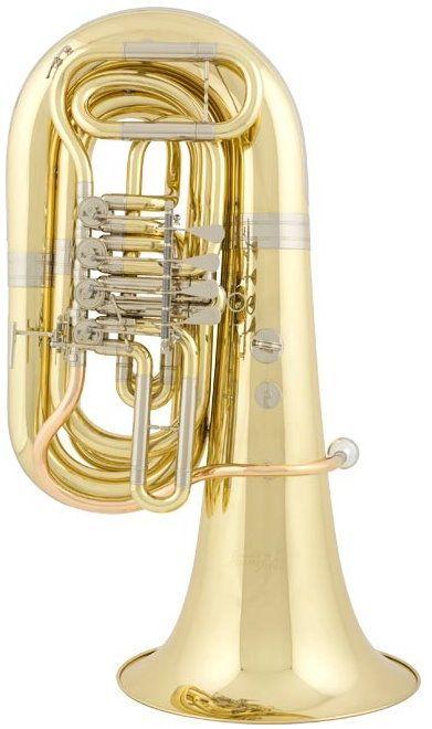 Cerveny CVBB684-4G B-Tuba,  Bohrung 21,20mm, 4 Ventile, Etui +  Zubehör