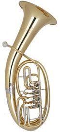 Miraphone 47-WL4 Bb-Tenorhorn, 47 WL4 0700,  Messing 4 Ventile
