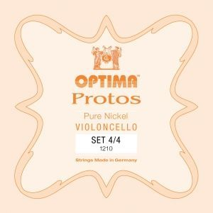 Optima Cello Saiten Protos 4/4  Stahl Satz  P.1210
